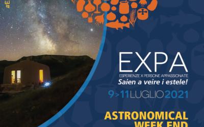 A LUGLIO ARRIVA L'ASTRONOMICAL WEEKEND DELL'ECOMUSEO TERRA DEL CASTELMAGNO